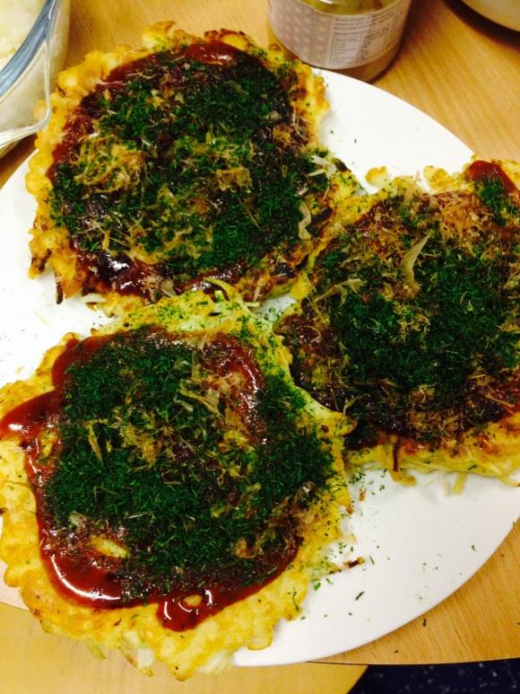 Lip-licking Japanese style 'pancakes' !