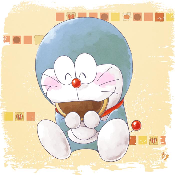 Doraemon Dorayaki Squishy : Doraemon Eating Dorayaki images