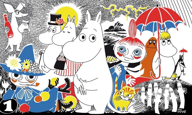 Meet The Moomin Family
