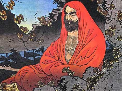 Bodhidharma had the idea to 'Mass Produce' the Daruma Dolls