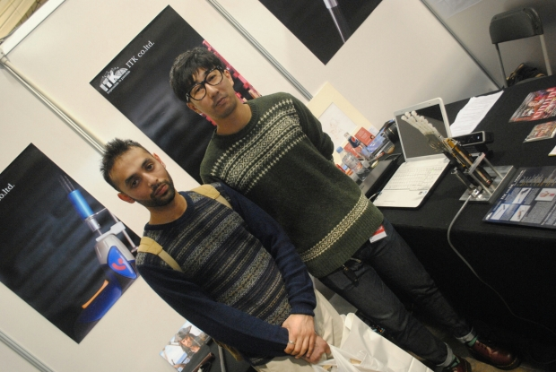 ITK demos Kinect-controlled 'Handroid' at Hyper Japan 2012